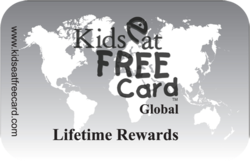Kids Eat Free Lifetime Card