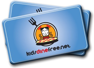 Kids Dine Free VA Only 12-Month Membership Card